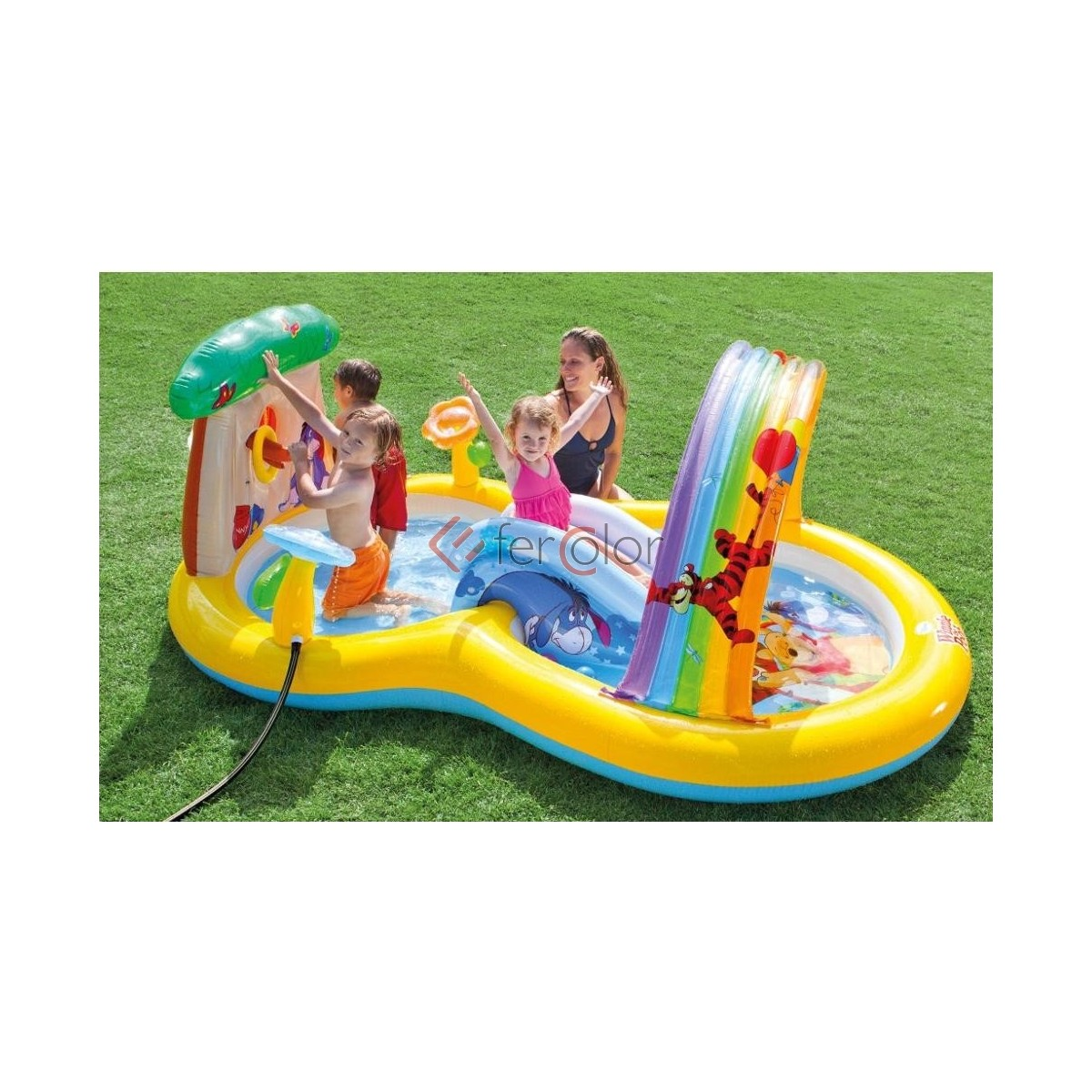 Piscina gonfiabile intex bambini playcenter winnie the for Piscine x bambini