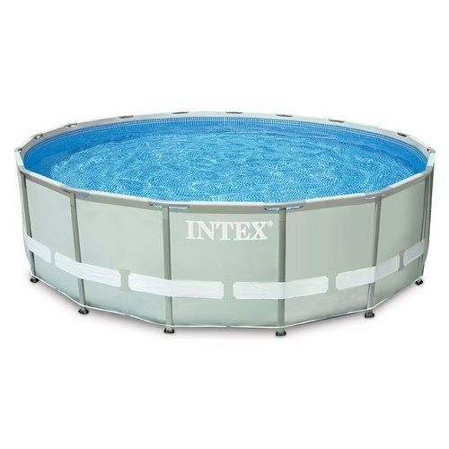 Piscina intex ultra frame rotonda 427x107 fuori terra art for Piscina intex rotonda