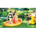 PISCINA GIOCO GONFIABILE PIRATI PLAY CENTER JILONG CM. 187 X 136 X 114 h