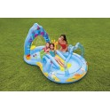 PISCINA GONFIABILE INTEX BAMBINO GIOCO PLAY CENTER REGNO MADONNA MARE cod. 57139