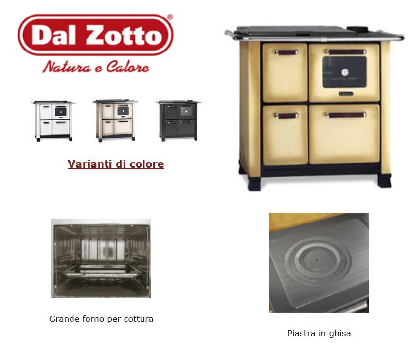 Cucina A Legna Dal Zotto.Cucina A Legna Dal Zotto Classica Modello 450 Colori Vari