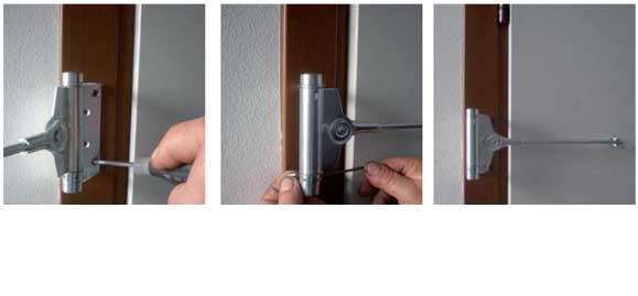 Chiudiporta molla da porta tipo triumph acciaio zincato - Come regolare un chiudiporta ...